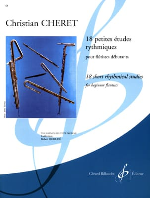 Christian Chéret - 18 Small Rhythm Studies - Flute - Sheet Music - di-arezzo.com