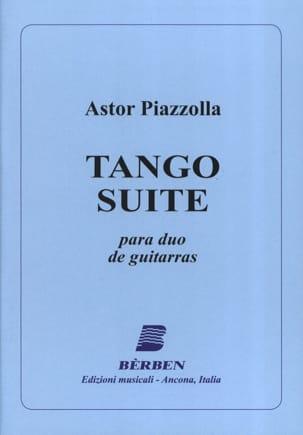Astor Piazzolla - Tango Suite - para duo de guitarras - Partition - di-arezzo.fr
