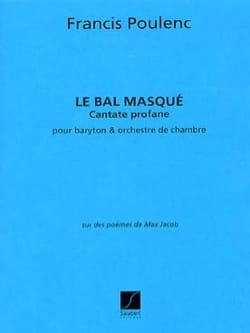 Francis Poulenc - The Masked Ball - Conductor - Sheet Music - di-arezzo.com