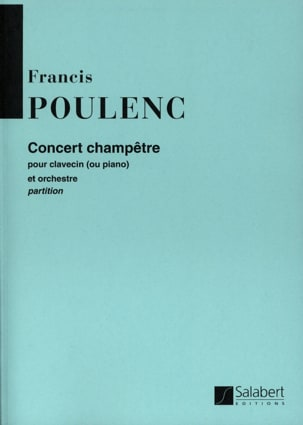 Francis Poulenc - Country Concert - Conductor - Sheet Music - di-arezzo.co.uk