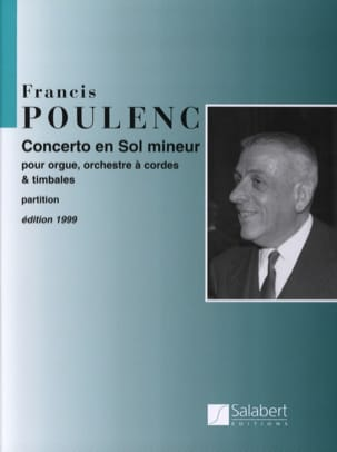 Francis Poulenc - Concerto in G minor for Organ - Conductor - Sheet Music - di-arezzo.com