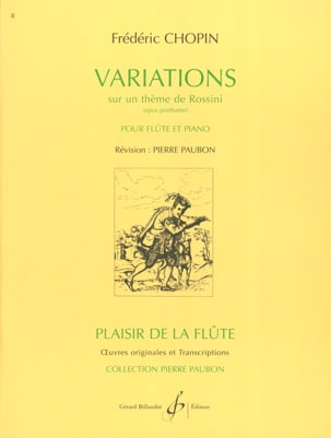 CHOPIN - Variations on a Rossini theme - Sheet Music - di-arezzo.co.uk