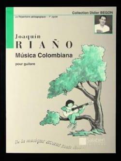 Musica colombiana - Joaquin Riano - Partition - laflutedepan.com