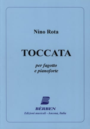 Nino Rota - Toccata - Sheet Music - di-arezzo.co.uk