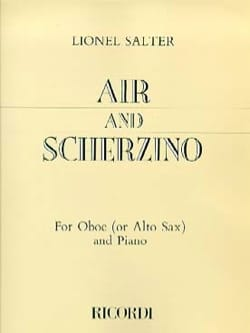 Lionel Salter - Air and Scherzino - Partition - di-arezzo.fr