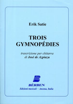 Erik Satie - 3 Gymnopédies - guitare - Partition - di-arezzo.fr