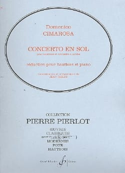 Domenico Cimarosa - Concerto in G major for oboe - Sheet Music - di-arezzo.co.uk