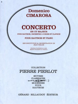 Domenico Cimarosa - Concerto in C Major - Oboe - Sheet Music - di-arezzo.co.uk