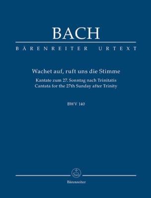 BACH - Wachet Auf, Ruft Uns Die Stimme. Kantate Zum 27. Sonntag Nach Trinitatis. Urtext - Partitura - di-arezzo.es