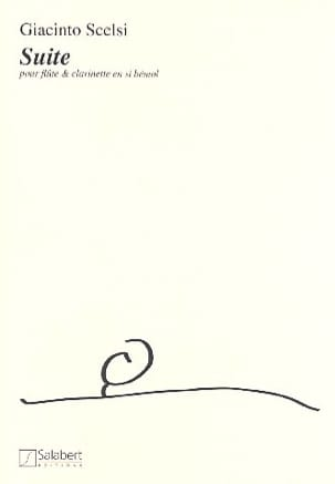 Giacinto Scelsi - Suite - Flute and clarinet - Sheet Music - di-arezzo.com