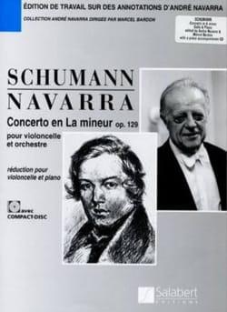 Concerto la mineur op. 129 – Violoncelle - laflutedepan.com
