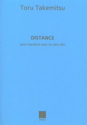 Toru Takemitsu - Distance - Sheet Music - di-arezzo.co.uk
