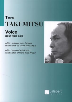 Toru Takemitsu - Voice – Flûte solo - Partition - di-arezzo.fr