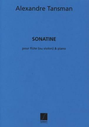 Alexandre Tansman - Sonatine - Flute violin piano - Sheet Music - di-arezzo.com