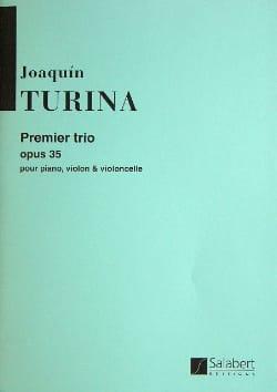 Trio n° 1 op. 35 -Parties TURINA Partition Trios - laflutedepan