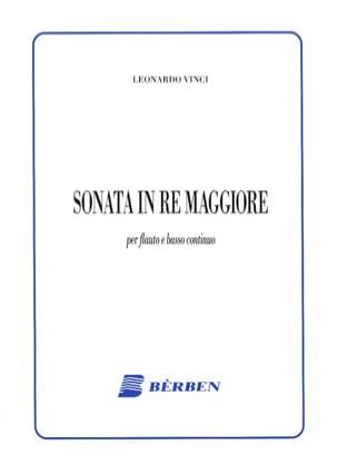 Leonardo Vinci - Sonata in Re Maggiore - Sheet Music - di-arezzo.com