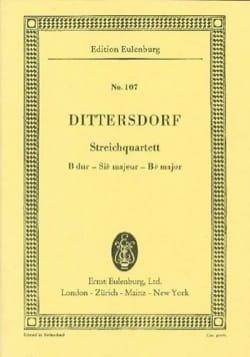Streich-Quartett B-Dur Carl Ditters Von Dittersdorf laflutedepan