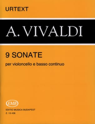 VIVALDI - 9 Sonate - Partitura - di-arezzo.it