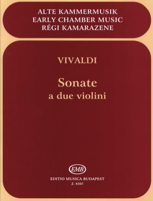 Sonate a due violini VIVALDI Partition Violon - laflutedepan