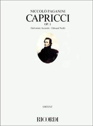 Niccolò Paganini - Capricci op. 1 - Sheet Music - di-arezzo.co.uk
