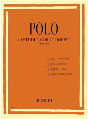 Enrico Polo - 30 Studies in double strings - Sheet Music - di-arezzo.co.uk