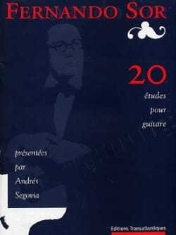 Fernando Sor - 20 Studies - Sheet Music - di-arezzo.co.uk