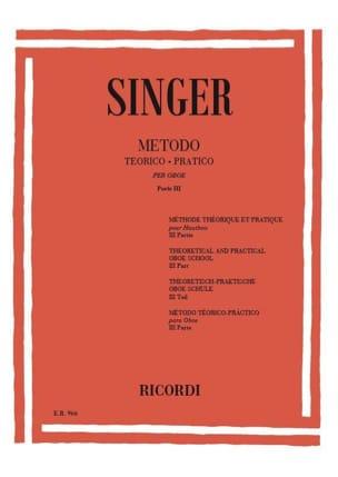 Sigismondo Singer - Metodo Theorico-Pratico - Oboe - Volume 3 - Sheet Music - di-arezzo.com