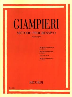 Alamiro Giampieri - Metodo progressivo - Fagotto - Sheet Music - di-arezzo.com