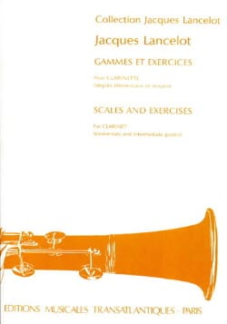 Gammes et Exercices - Jacques Lancelot - Partition - laflutedepan.com
