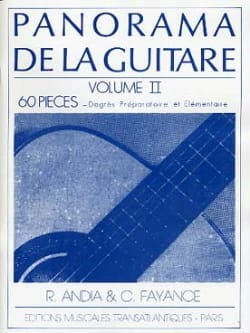 Andia Rafael / Fayance Catherine - Panorama of the Guitar Volume 2 - Sheet Music - di-arezzo.com
