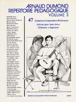 Arnaud Dumond - Répertoire pédagogique – Volume 3 - Partition - di-arezzo.fr