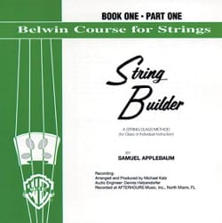 String Builder, Vol 1 / Partie 1- Violin CD laflutedepan