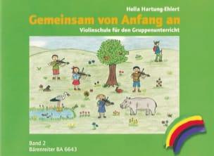 Gemeinsam von Anfang an, Bd. 2 - Violin - laflutedepan.com
