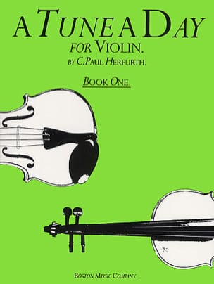 Paul C. Herfurth - A Tune A Day Volume 1 - Violin - Partition - di-arezzo.fr