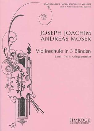 Joachim Joseph / Moser Andreas - Violin Treatise - Volume 1, part. 1 - Sheet Music - di-arezzo.com