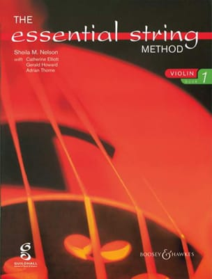 Sheila M. Nelson - Essential string method, Volume 1 – Violin - Partition - di-arezzo.fr