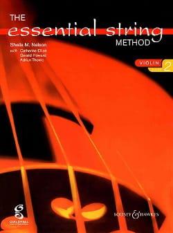 Sheila M. Nelson - Essential string method, Volume 2 – Violin - Partition - di-arezzo.fr