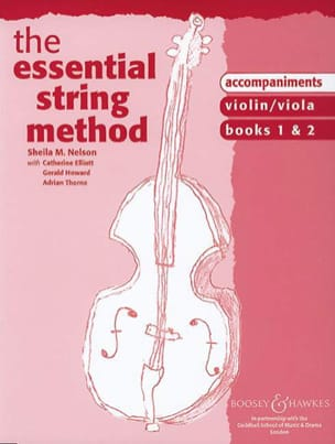Sheila M. Nelson - Essential string method - Acc. Violin/Viola - Partition - di-arezzo.fr