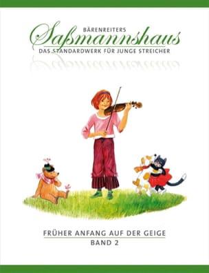 Egon Sassmannshaus - Fruher Anfang Auf Der Geige Vol.2 - Partition - di-arezzo.co.uk