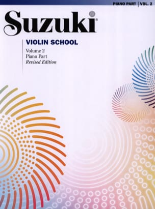 Suzuki - Violin School Volume 2 – Accompagnement Piano - Partition - di-arezzo.fr
