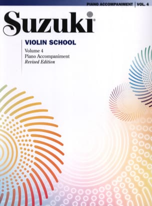 Suzuki - Violin School Vol.4 - Piano Accompaniment - Sheet Music - di-arezzo.co.uk