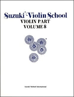 Suzuki - Violin School Vol.8 – Violin Part - Partition - di-arezzo.fr