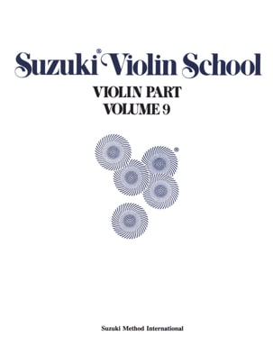 Violin School Vol.9 - Violin Part - Suzuki - laflutedepan.com