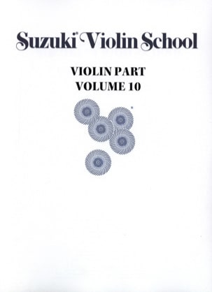 Violin School Volume 10 - Violin Part - Suzuki - laflutedepan.com