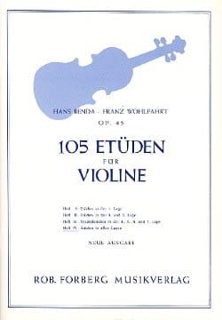Benda Hans / Wohlfahrt Franz - 105 Studien op. 45, Band 4 - Noten - di-arezzo.de
