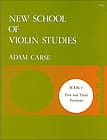 Adam Carse - New School Of Violin Studies Volume 3 - Partition - di-arezzo.fr