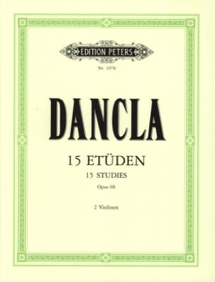 DANCLA - 15 Studies op. 68 - Sheet Music - di-arezzo.com