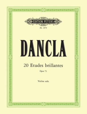 DANCLA - 20 brilliant studies op. 73 - Sheet Music - di-arezzo.com