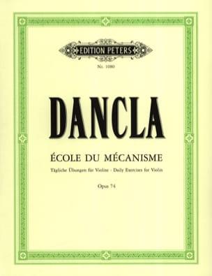 DANCLA - School of the Mechanism Op. 74 o School of Velocity - Partition - di-arezzo.it