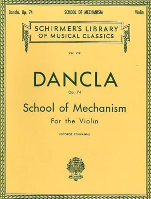 DANCLA - School of the Mechanism Op. 74 or School of Velocity - Sheet Music - di-arezzo.co.uk